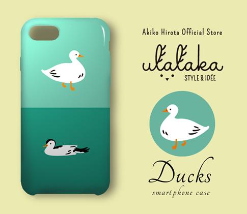 「Ducks」スマホケース